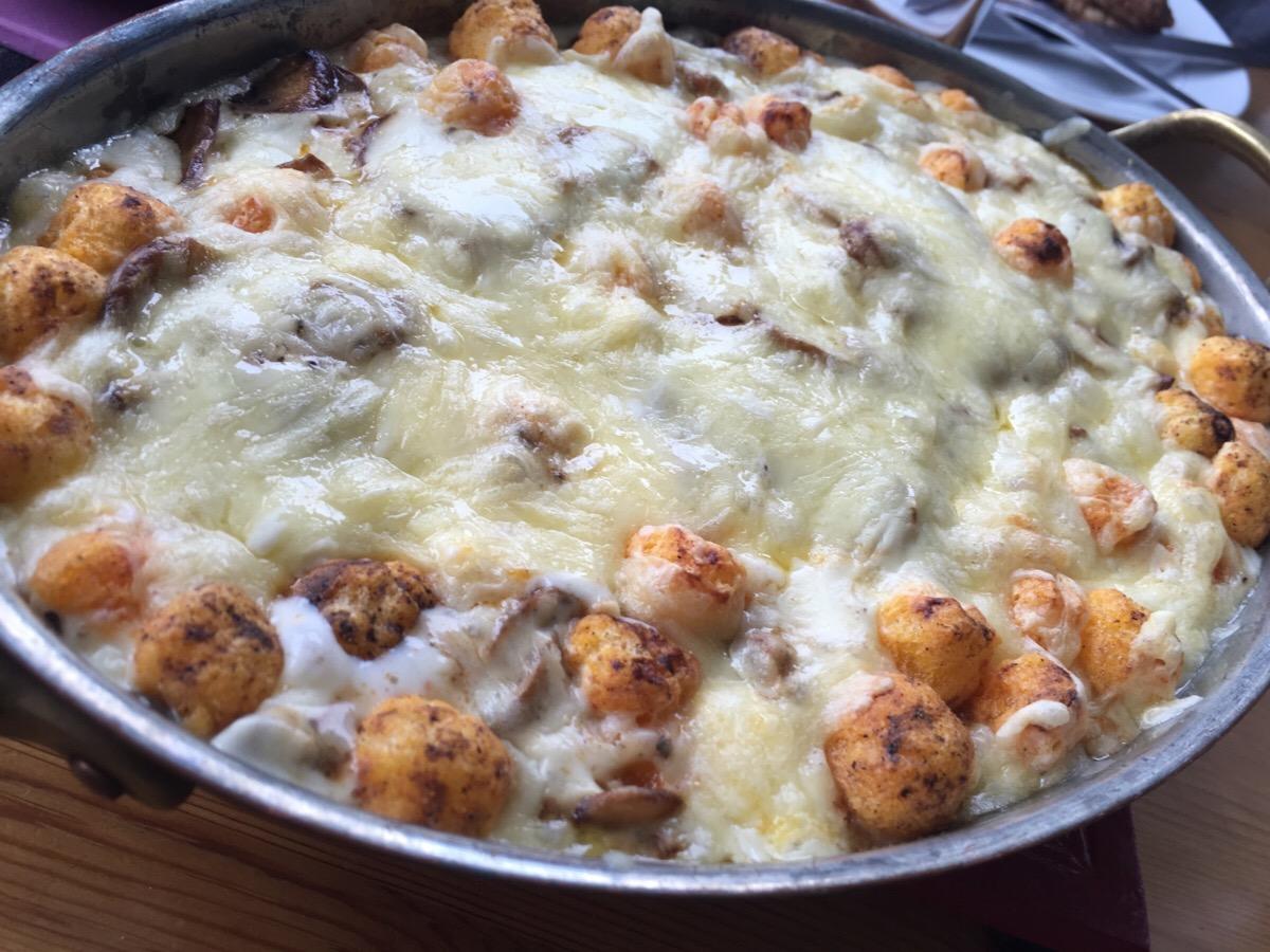 Cheeseballz-gratäng