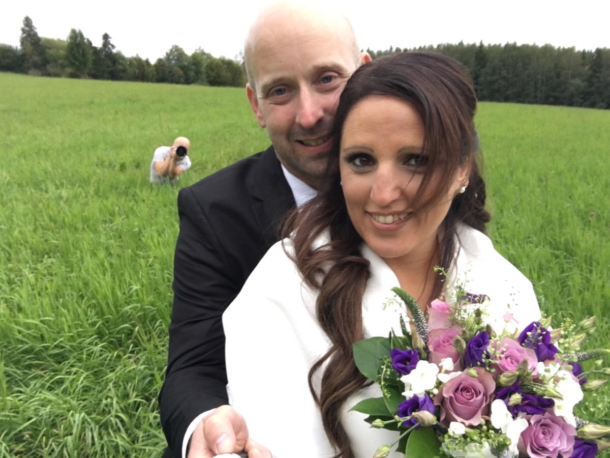 Bröllop Robert och Maria