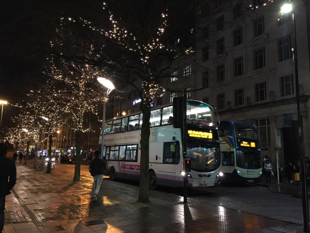 Nyårsresa till Manchester – nerresan
