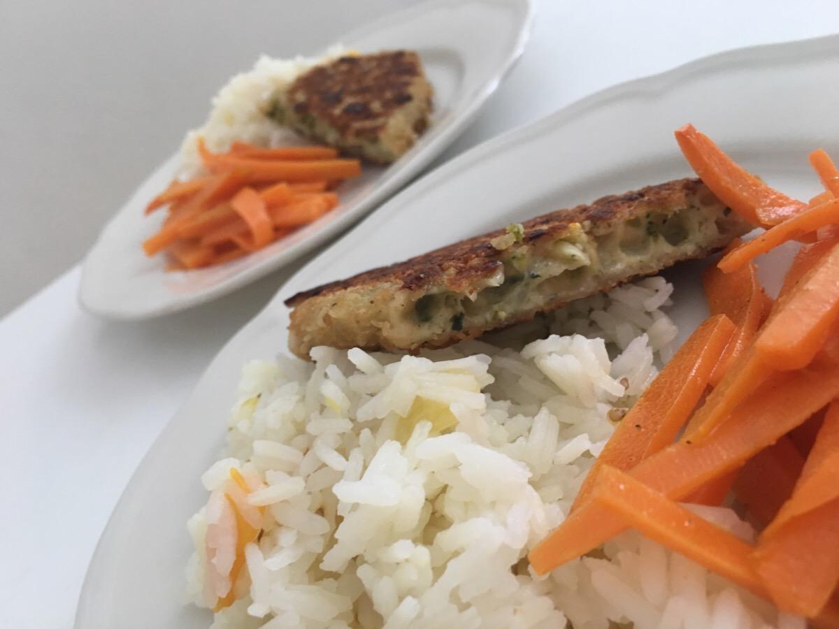 Vegetariska broccoli och ostbiffar