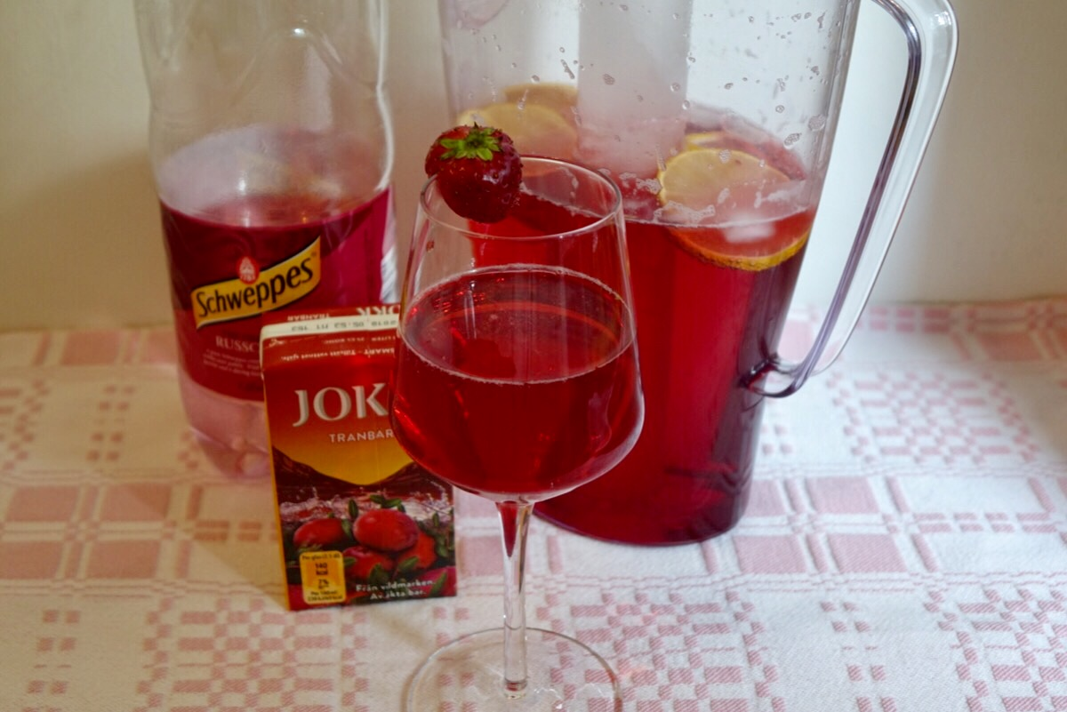 Tranbärsdrink