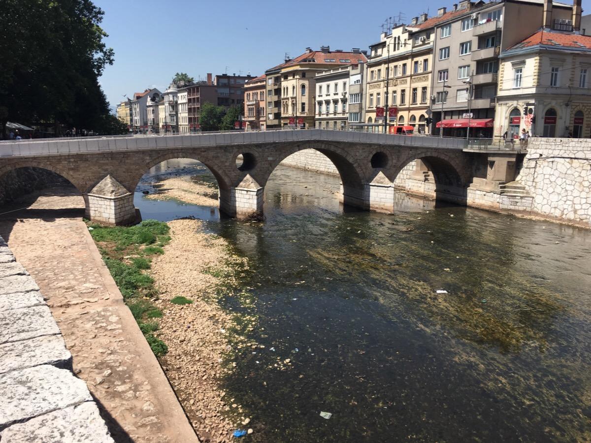 Sarajevo och Srebrenica