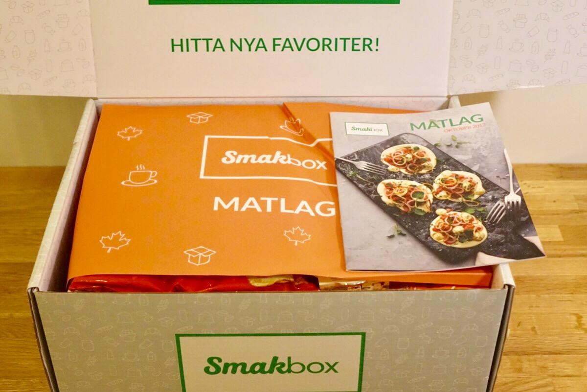 Smakbox Matlag