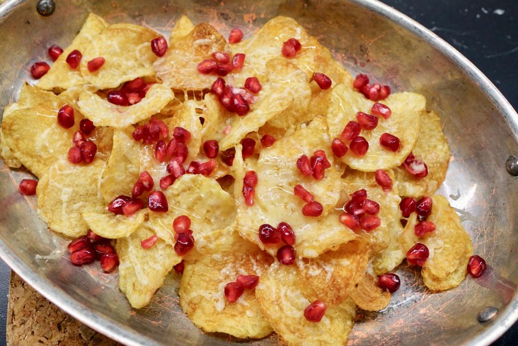 Chips med västerbottensost