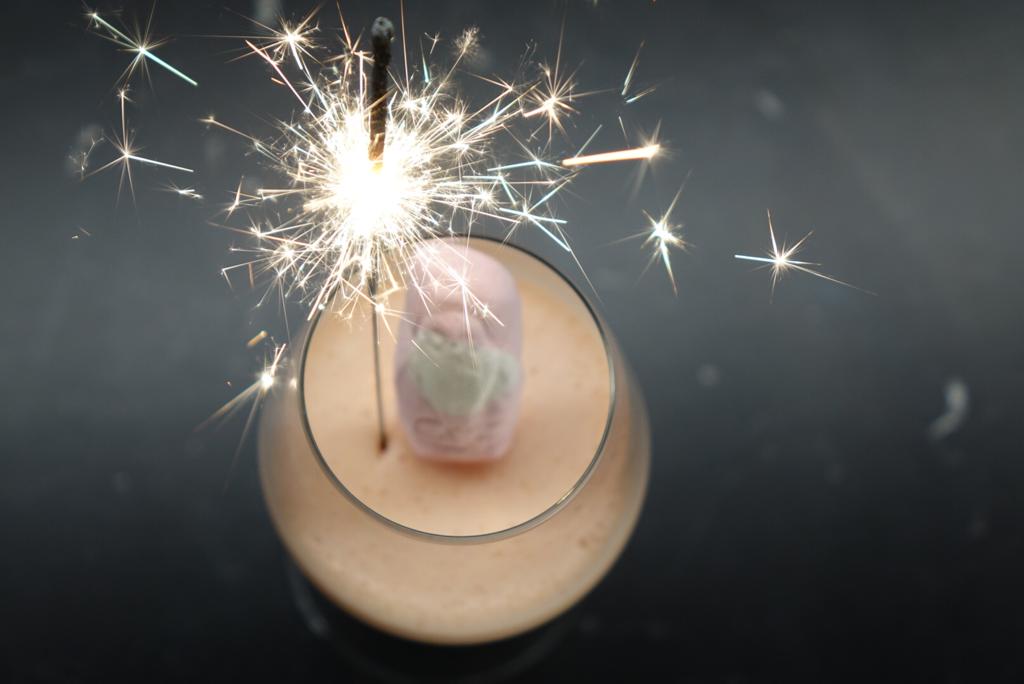 Skumtomtepannacotta – vår nyårsdessert