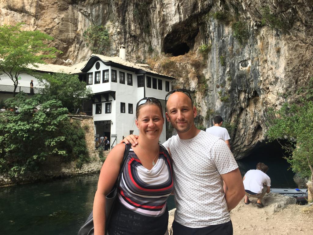 Mellan Mostar och Split
