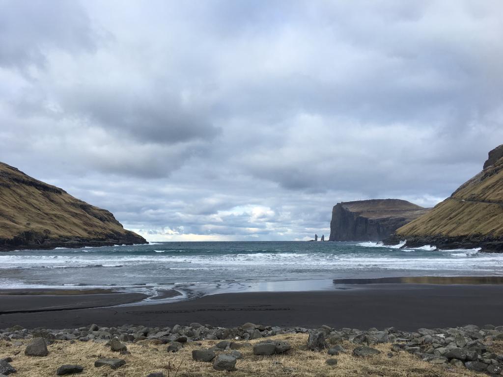 Färöarna och ön Streymoy