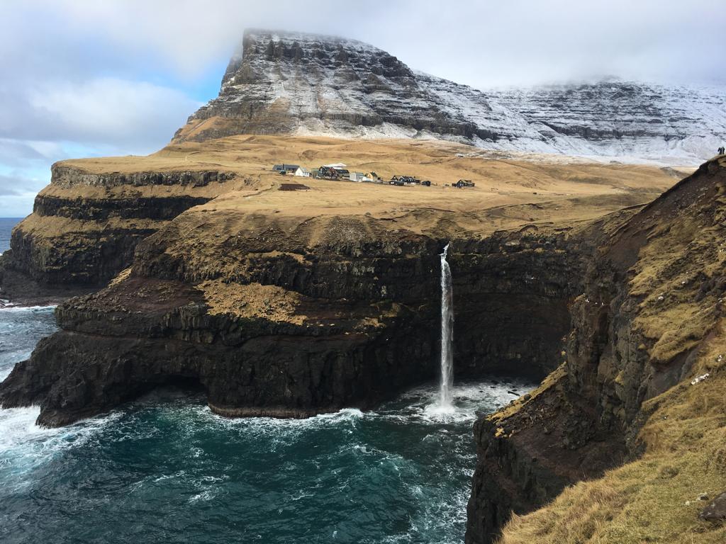 Vykort från Färöarna