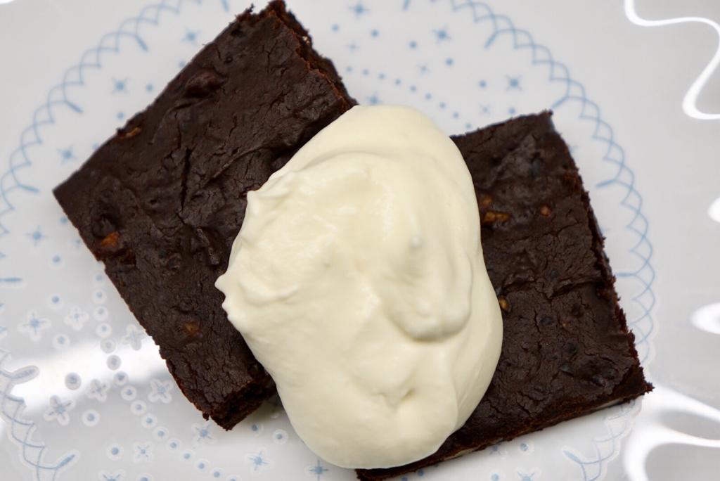 Brownies med svarta bönor