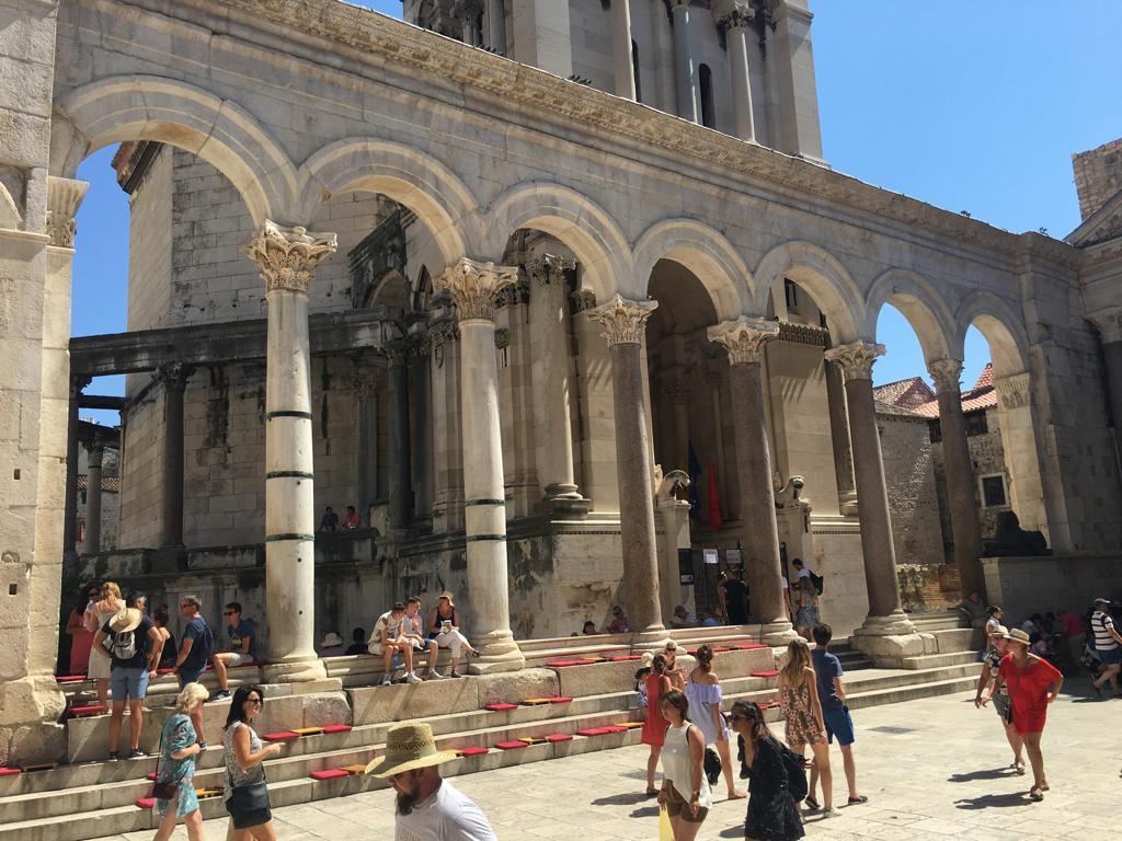 Vykort från Split