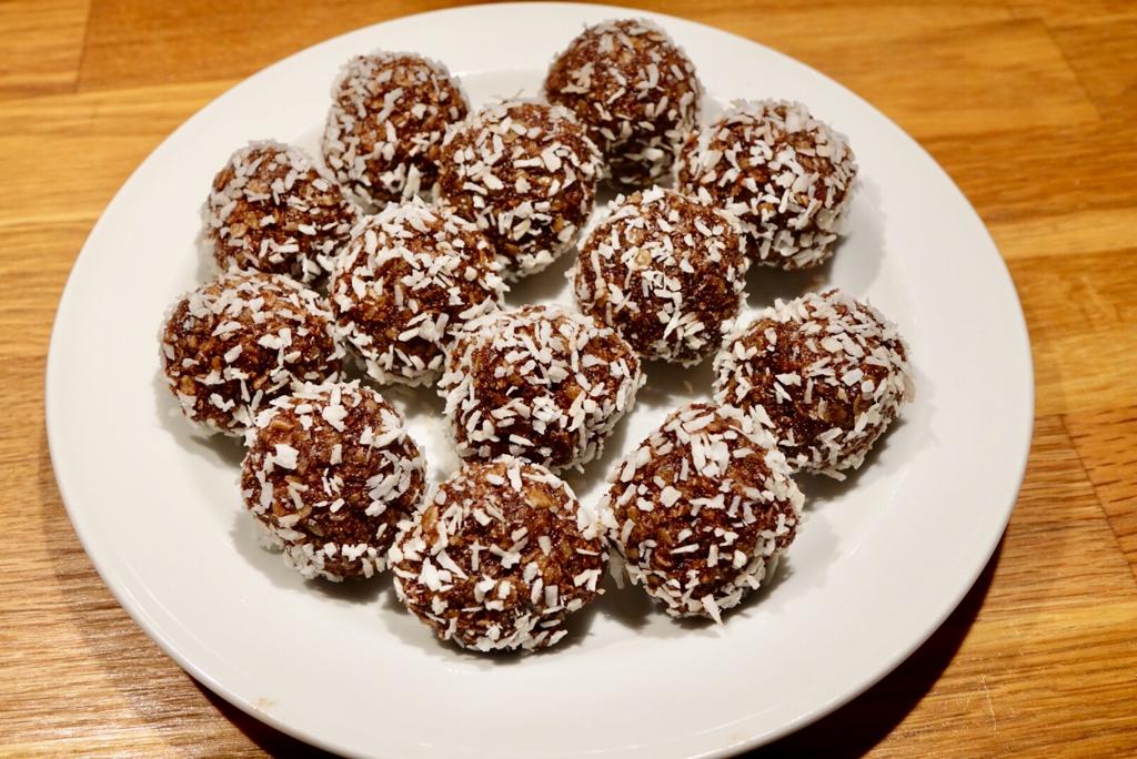 Chokladbollar, ett klassiskt fika
