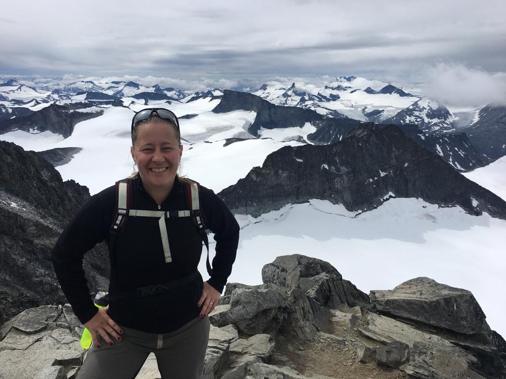 Galdhøpiggen, norra Europas högsta topp