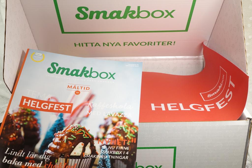Smakbox Helgfest