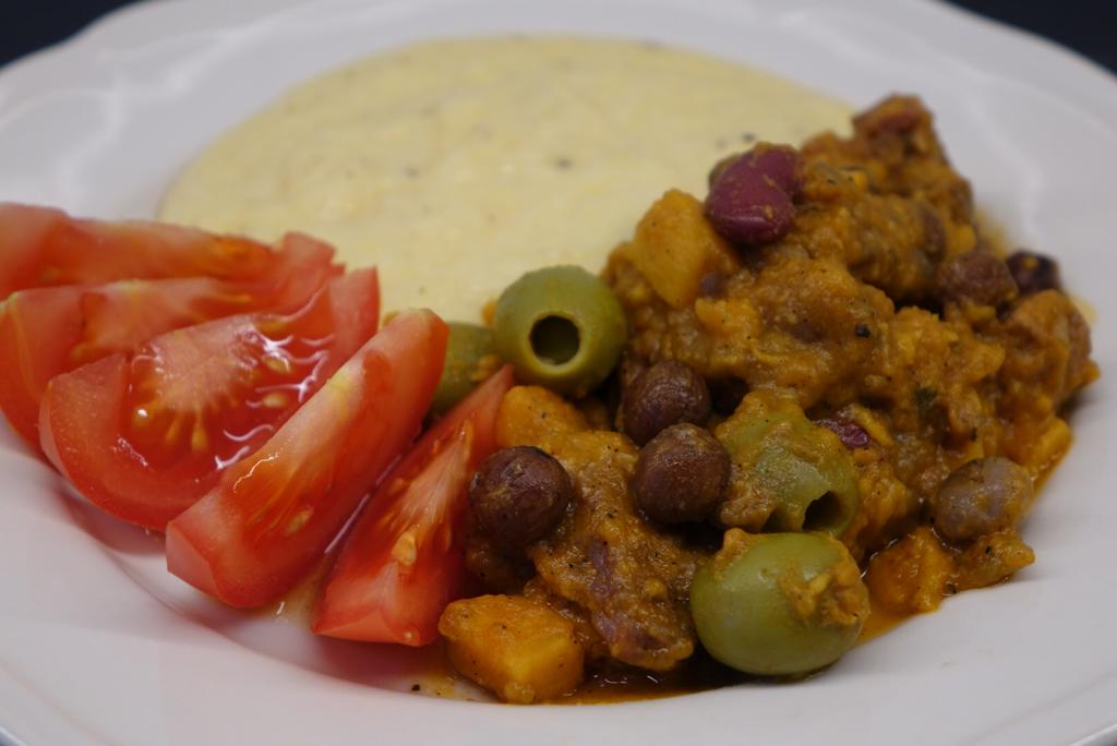 Italiensk gryta med sötpotatis