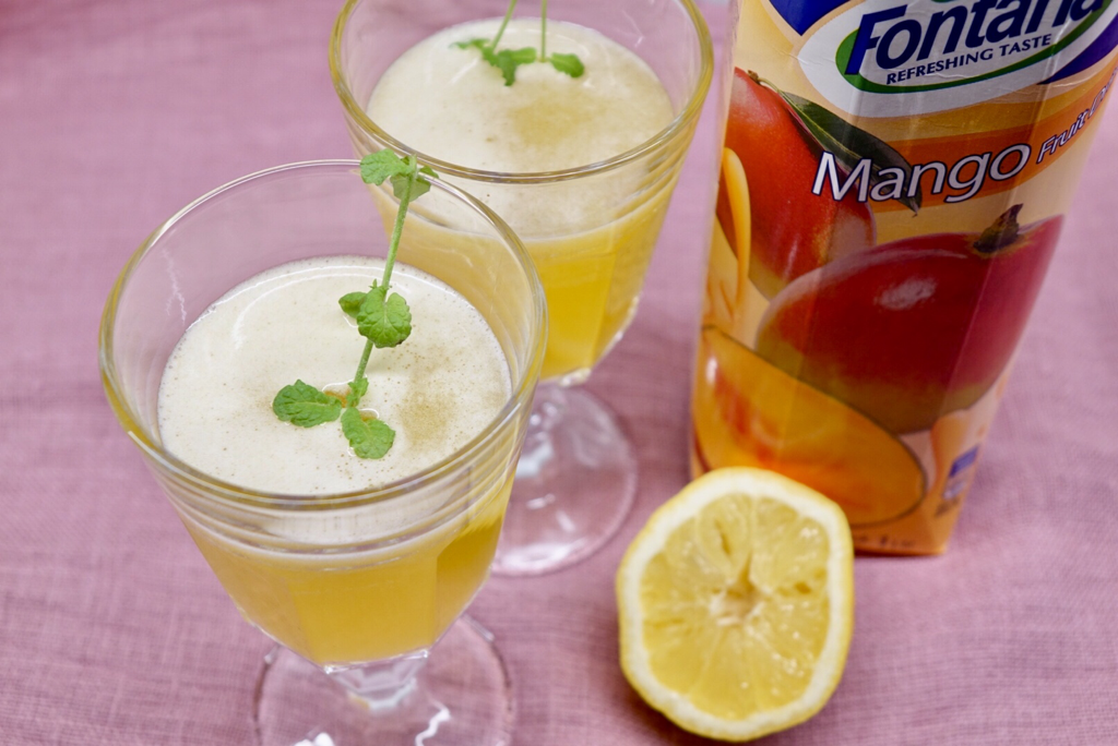 Mangodrink som fredagsdrink