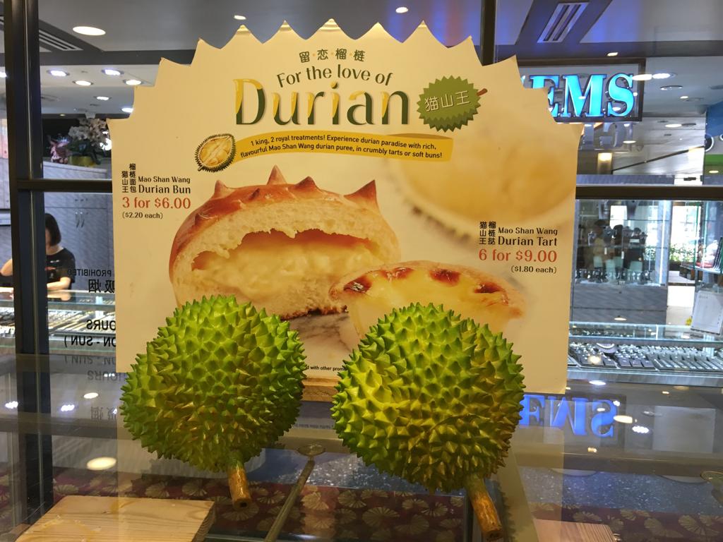 Den stinkande frukten Durian