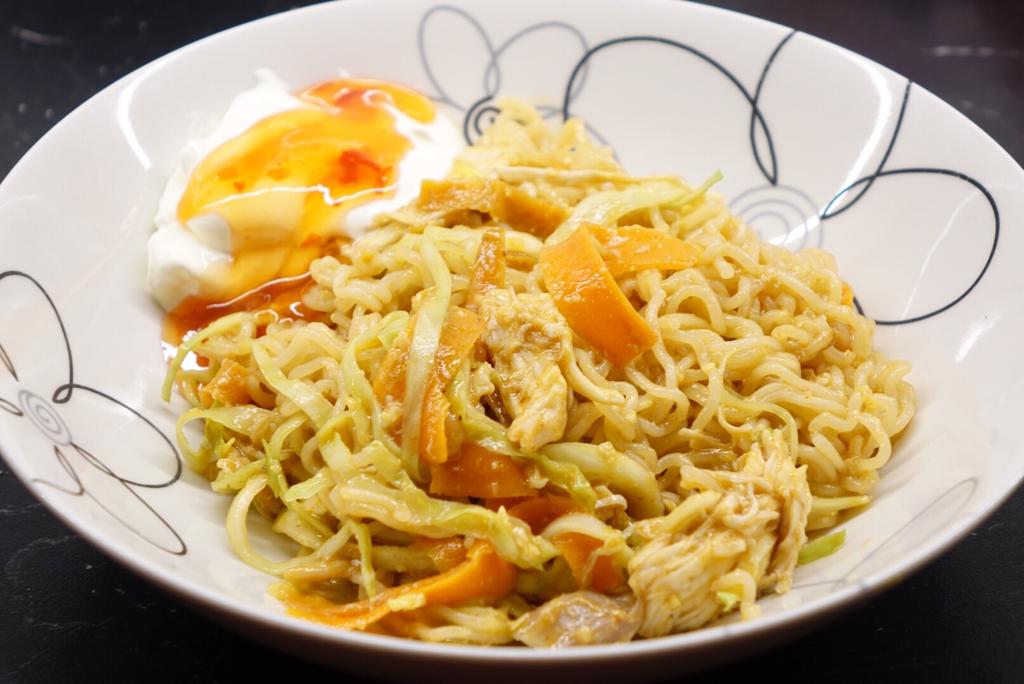 Kycklingwok Pad Thai
