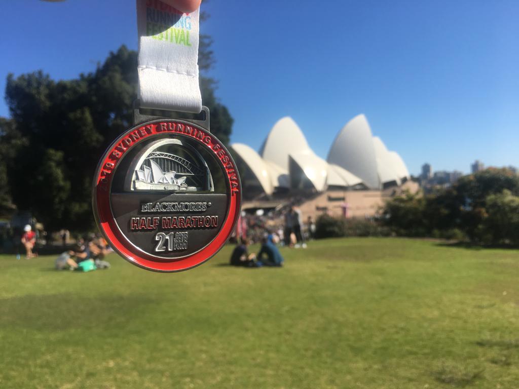 Sydney halfmarathon race report 2019