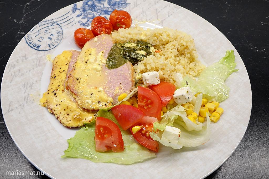 Currykassler i ugn