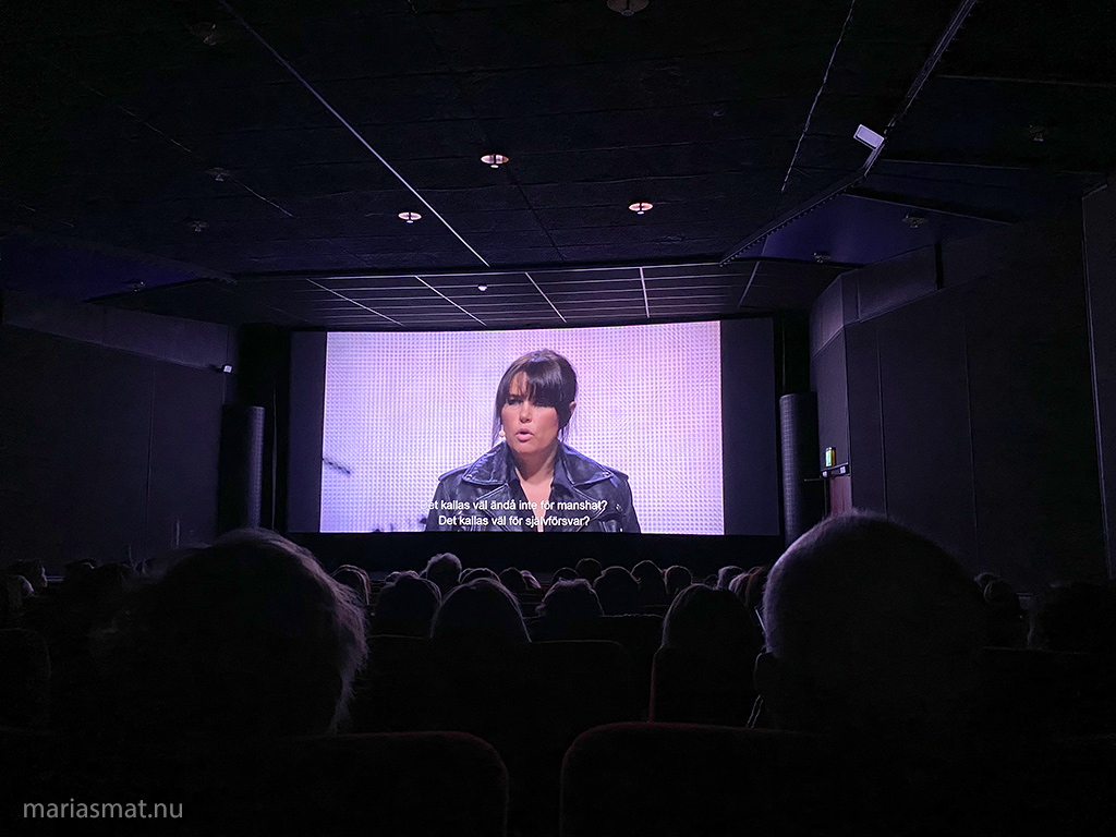 Mia Skäringers show på bio