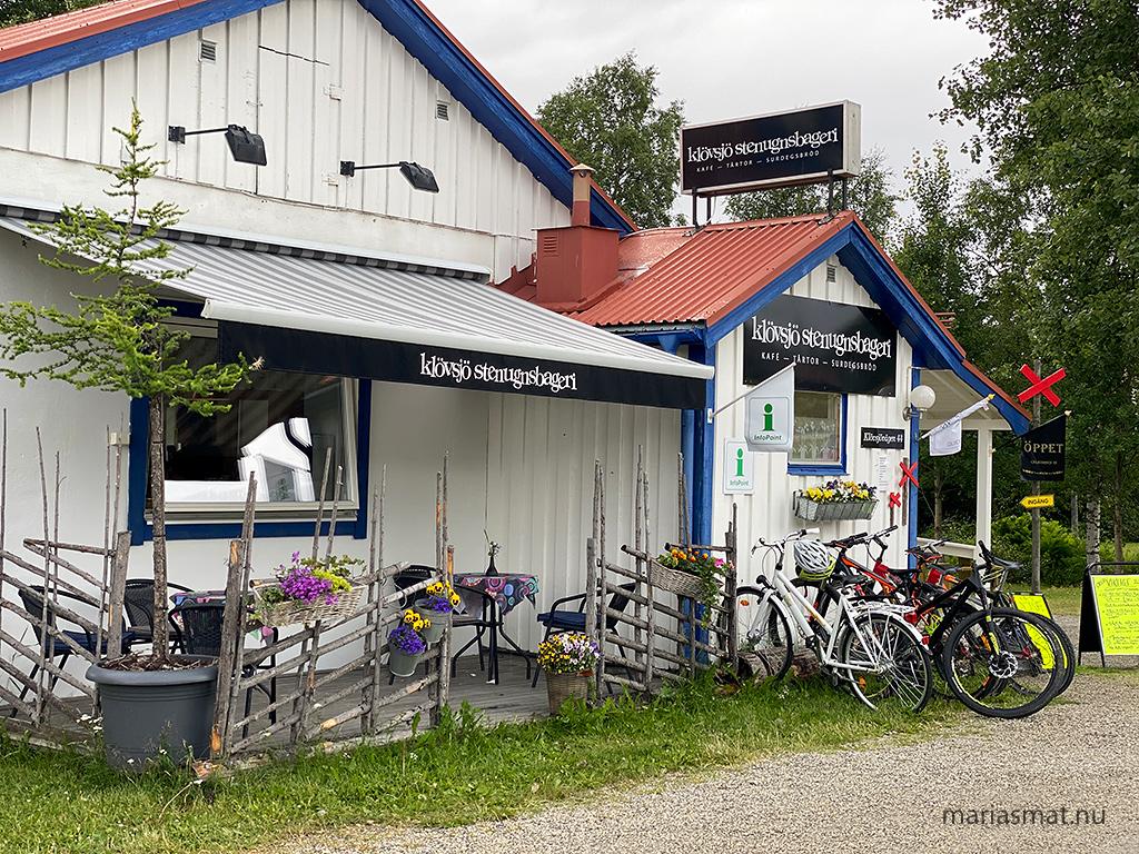 Stenugnspizza i Klövsjö