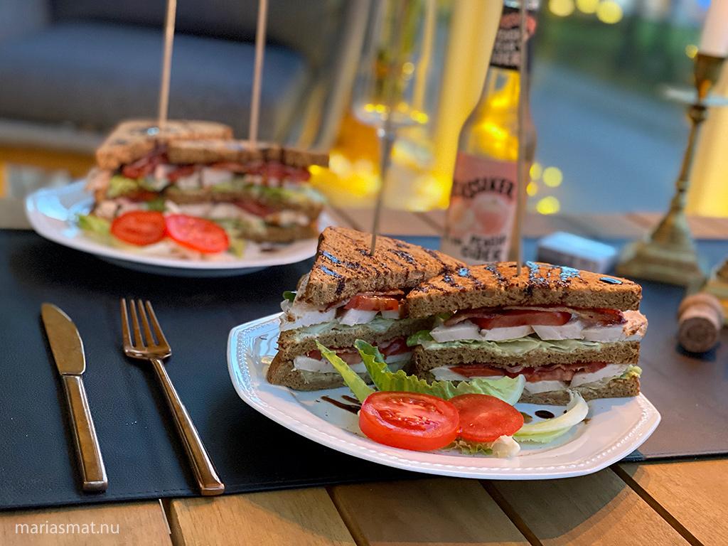 Club Sandwich som skön fredagsmiddag
